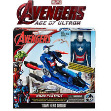 Marvel Avengers Age of Ultron ferro PATRIOT ACTION FIGURE CON arcthruster JET 4+