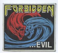 Forbidden Evil synthetic 3D patch early 80's RARE