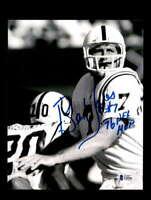 Bert Jones BAS Beckett Coa Signed 8x10 Autograph Photo