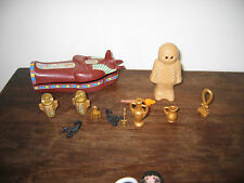 Playmobil Momia Faraón Egipcio Tumba reliquias figuras Play scorpians Tesoros