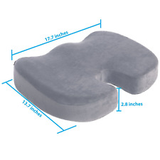 Aylio Coccyx Orthopedic Comfort Foam Seat Cushion for Lower Back NEW