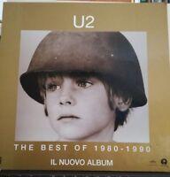 NO CD/LP/MC - CARTONATO DA BANCO - U2 - THE BEST OF 1980 - 1990 - ORIGINALE