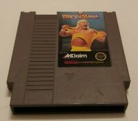 WWF WrestleMania  NES Nintendo Game Tested Works Authentic Original