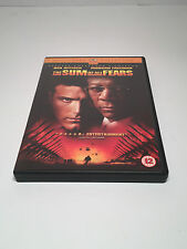 The Sum Of All Fears DVD UK Region 2