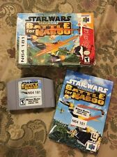 Star Wars: Episode I: Battle for Naboo (Nintendo 64, 2000) Complete In Box