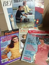 7 Vintage Needlecraft Crochet Knitting Books + 1 Pattern - A369