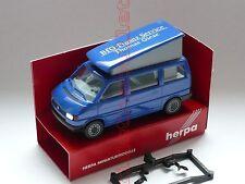 VW Volkswagen Bus T4 Caravelle Camper BFG THOMAS GIESE FINANZ SERVICE Herpa 1:87