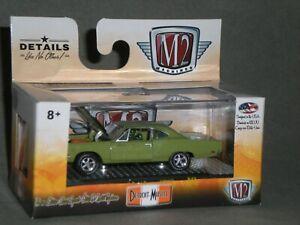 1/64th M2 Machines Detroit Muscle R45 1969 Plymouth Road Runner Hemi