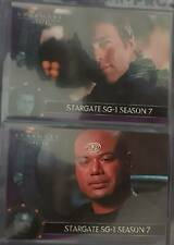 Trading Cards - Stargate SG1 - Season 7 - Cards P1 and P2- free shipping