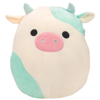 "16"" Squishmallow Blue Easter Cow Kellytoy 2021 NEW Belana NO BANDANA HTF NWT"