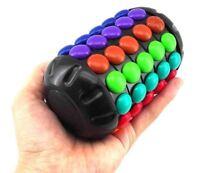 Rainbow Magic barrel round capsule magic cube Cryptex 3D puzzle