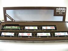 """MÄRKLIN Z 8113 BR 140 grün Zugpackung """"Groß hilft Klein"""" (IM159)"""