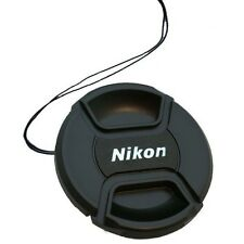 Pinch Snap-On Front Lens Cap For Nikon 58mm