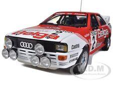 AUDI QUATTRO A1 #2 M.DUEZ/ W.LUX 1 WINNER BOUCLES DE SPA 1983 1/18 SUNSTAR 4223