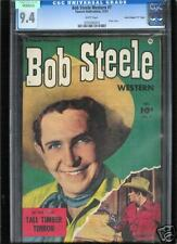 Bob Steel Western #7 CGC 9.4 NM WHITE Pages Universal CGC #0754763012