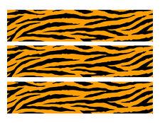 Tiger stripes edible cake strips cake topper decorations