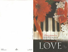 Wedding Bulletins: Friendship ... Love U6160 (NEW in plastic 100 count)
