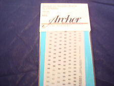 ARCHER FINE TRANSFERS GERMAN SS SHOULDER BOARDS INFANTRY UNITS FG35043A 1:35 NEW