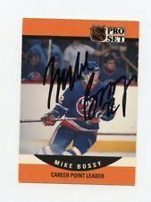 MIKE BOSSY ISLANDERS AUTOGRAPH AUTO 90-91 PRO SET #650 *63566