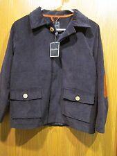 Oscar de la Renta Boys Blue Cotton Coat Size 10Y