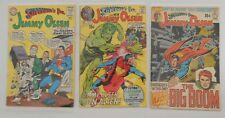 LOT of 7 Superman Comics Mid-High grade Lot Jimmy Olsen Lois Lane Silver/Bronze