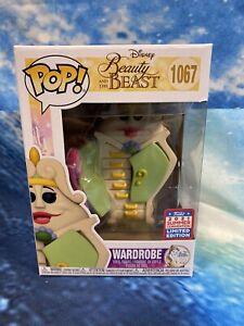FUNKO POP! WARDROBE #1067 DISNEY Beauty And The Beast SDCC 2021 + Protector