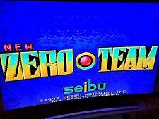 NEW ZERO TEAM Seibu kaihatsu Jeu Arcade Jamma PCB Original Japan 1997 Beat BTA