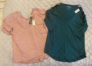 Nwt womens lot 2 express size medium Tops Shirts