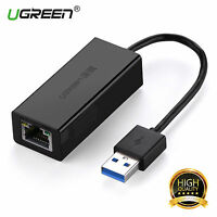 UGREEN Gigabit Network Adapter USB 3.0 to RJ45 Ethernet Lan Adapter 1000Mbps