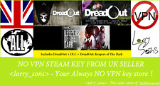 DreadOut Collection (inc 2 Games + DLC) Steam key NO VPN Region Free UK Seller