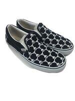Vans Men's Fixed Gear Skull Chain Link  Slip On Shoes Skateboarding Sneakers 12