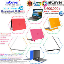 """mCover Hard Case for 2019 15.6"""" HP Chromebook 15-DExxxx series Laptop Computers"""