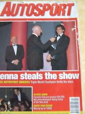 AUTOSPORT MAGAZINE DEC 1991 SENNA STEALS THE SHOW AWARDS DAVID COULTHARD O GAVIN