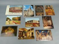 Vintage Lot Of 9 Postcards and Souvenir Booklet Versailles Paris France Lot