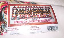 """Design Works WAITING AT THE FIREHOUSE Counted CS Kit  Hard to Find 9"""" x 22"""""""