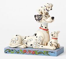 Disney Traditions Puppy Love Pongo Penny Rolly 101 Dalmation Figure 16cm 4054278