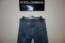 Dolce&Gabbana Black Label Runway DISTRESSED Logo Jeans 44 IT Made in Italy 550€