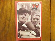 Dec. 16, -1973 Lancaster Pa TV Week(THE SNOOP SISTERS/MILDRED NATWICK/BILL MACY)
