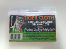 Kinetronics Anti-Static Microfiber Cloth, 10x18-Inch Tiger Cloth