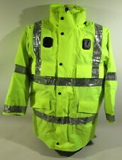 Ex Police Hi Vis Waterproof Jacket With Reflective Strips Security Vehicle