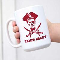 Brady Buccaneers Mug Tampa Brady Coffee Mug Bucs Cup Mug