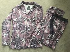 *BNWT* George Ladies Animal Print Pink Pyjama Set - 12-14 - £15