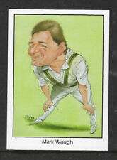 WEETBIX CRICKET 1994 ASHES CRICKETERS MARK WAUGH CARD #15 of 20