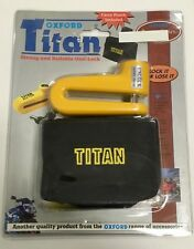 Oxford Titan Strong and Reliable Disc Lock for Motorcycles Of28
