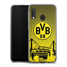 Samsung Galaxy A20e Silikon Hülle Case Handyhülle - BVB Dots