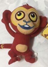 Brand New Rare Bandai Tinga Tinga Tales - Small Red Monkey Soft Toy Plush