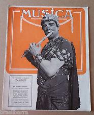 Revue : MUSICA N°82 Juillet 1909