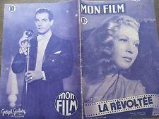 """MON FILM 1949 N° 125 """" LA REVOLTEE """", avec JOSETTE DAY et VICTOR FRANCEN"""