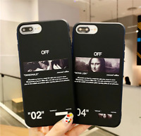 OFF WHITE Arrows & Mona Lisa Phone Case iPhone 7 8 plus X XR XS MAX 11 pro