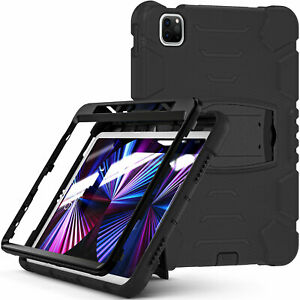 Heavy Duty Shockproof Case For iPad 10.2 8 7th 9.7'' 5/6th Gen Air 10.5 Pro 12.9